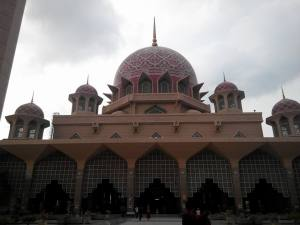 But had this lovely mosque.