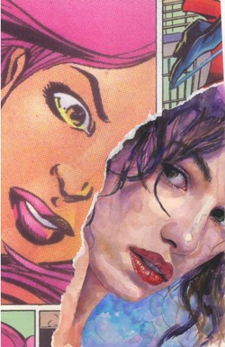 Just snitched from Wikipedia - Promotional art for cover of Alias #23 Art by David Mack and Mark Bagley