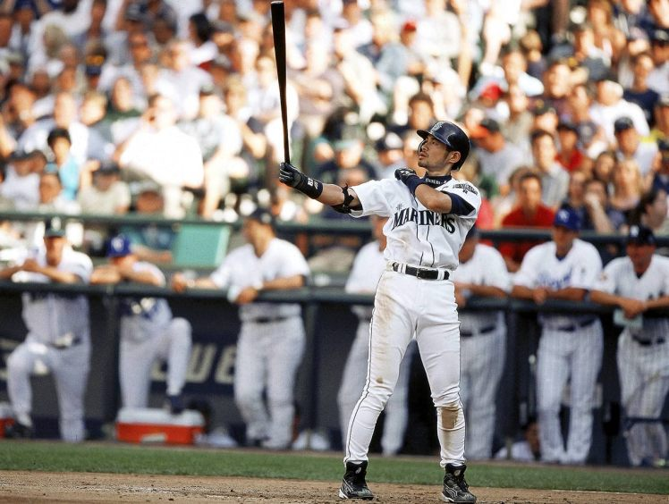 Seattle Mariners Ichiro Suzuki, 2001 All Star Game